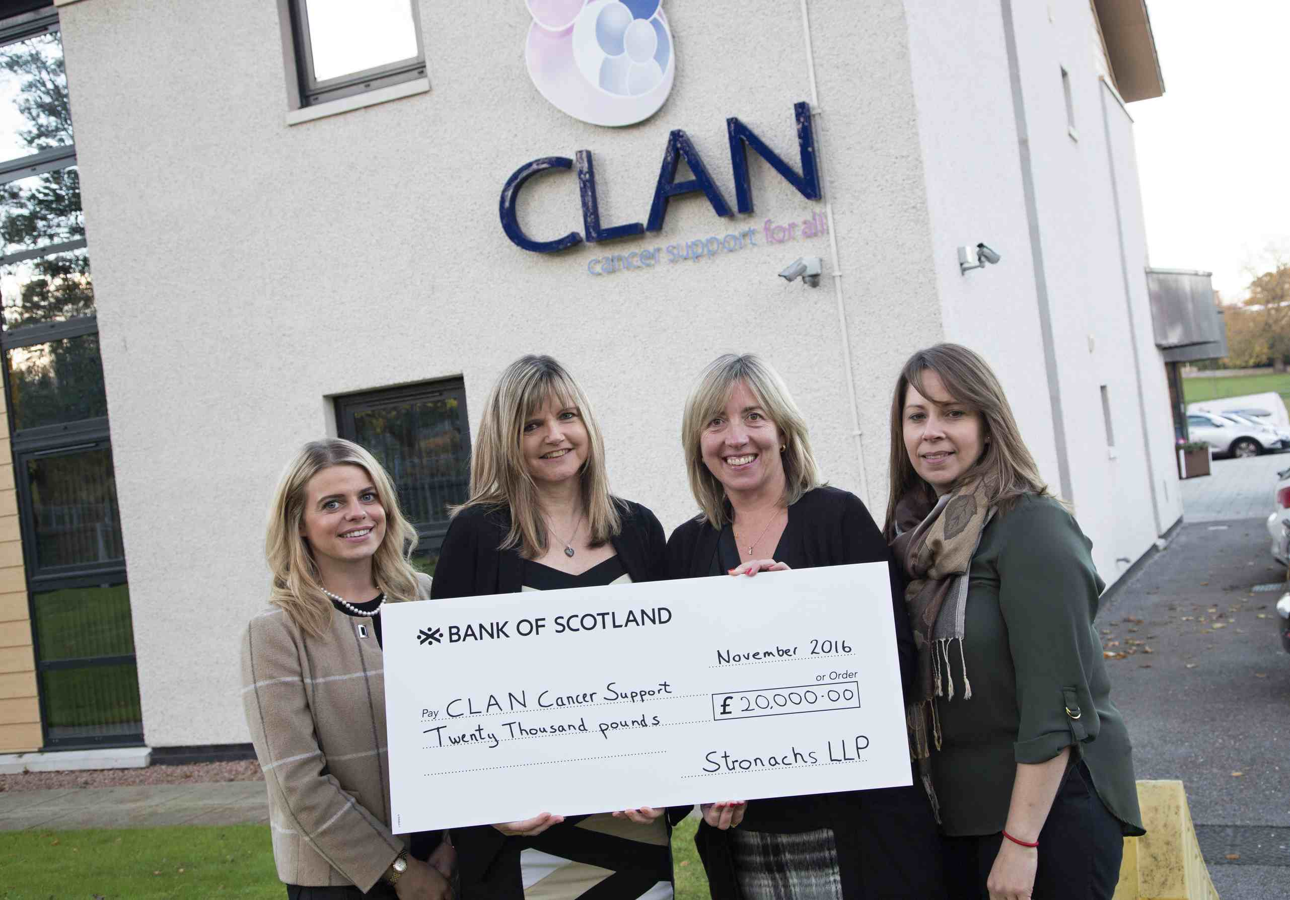 Stronachs doubles its CLAN fundraising target for 2016