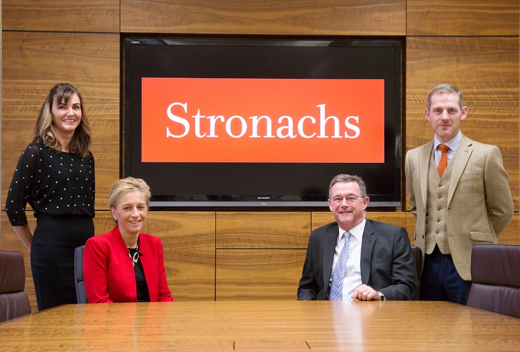 New appointments at Stronachs