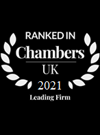 Chambers Leading Firm 2020 bw