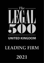 Legal 500uk leading firm 2020